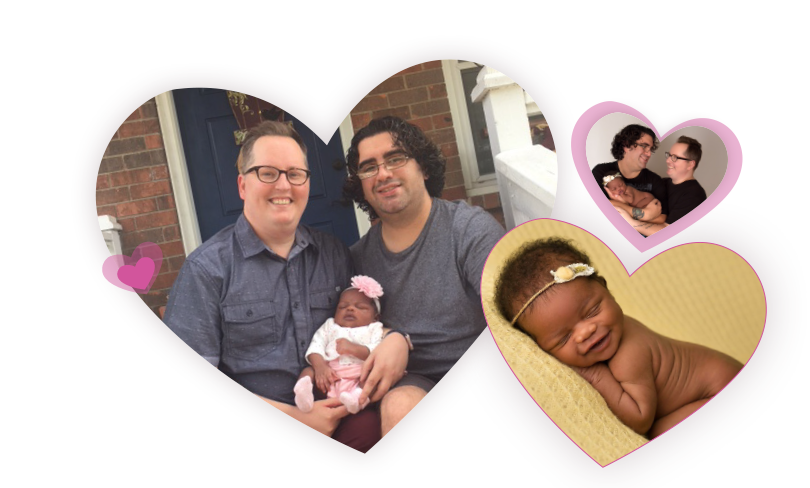 adoptive family Brandon and John