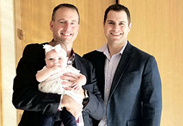 adoptive family Ben and Steven